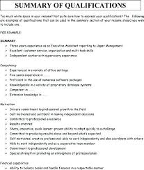 summary for resume exles summary for resumes exle of resume summary resume summary