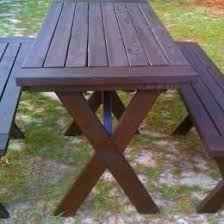 100 best picnic table plans images on pinterest garden picnics