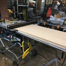 dewalt table saw rip fence extension table saw fence systems rockler woodworking and hardware