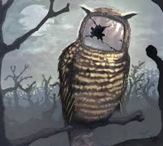 Art School Owl Meme - 20 funny and weird digital works of art
