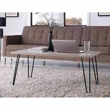 altra owen retro coffee table owen retro coffee table sonoma oak walmart com inside the house