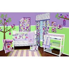 Nursery In A Bag Crib Bedding Set Bacati Botanical 10 Nursery In A Bag Crib Bedding Set