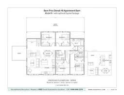 Barns With Living Quarters Denali Barn Barn Pros - Barn apartment designs
