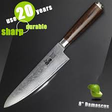 popular damascus chef knives buy cheap damascus chef knives lots