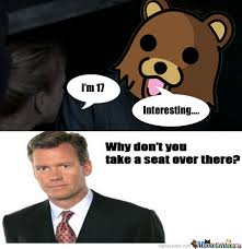 Chris Hansen Meme - chris hansen initiates a cock block on axel from the walking dead