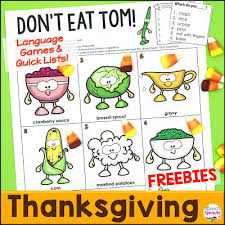 speech sprouts 2 and easy turkey day for free just