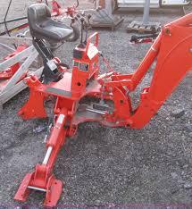 kubota bh92 backhoe attachment item h4494 sold december