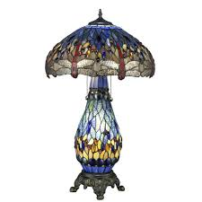 dale tiffany dragonfly lily table l dale tiffany dragonfly lily table l in bronze with lit base floor