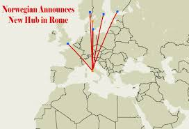 Turkish Airlines Route Map by Low Cost Airline Carrier Norwegian To Open Rome Fiumicino Airport
