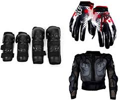 bike riding gear auto pearl premium quality bike accessories combo of fox motorcycle
