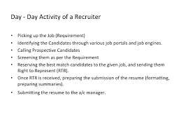 Technical Recruiter Sample Resume by Us Recruitment