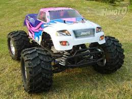 rc monster truck racing 1 8 4wd nitro powered off road 2 speed transmissions monster truck