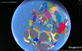 World Map Without Distortion by 1 19 Eu4 Map Mounted On Google Earth Rebrn Com