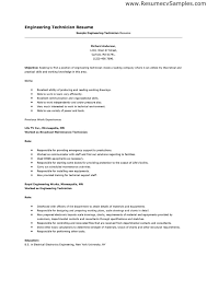 Electronic Engineering Resume Sample Maintenance Technician Resume Avionics And Electrical Maintenance