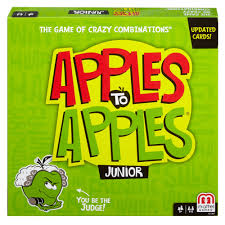 The Good One Patio Jr by Apples To Apples Junior The Game Of Crazy Comparisons Walmart Com