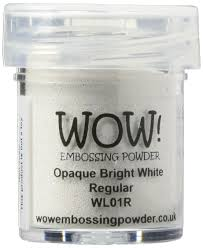 Bright White by Amazon Com Wow Embossing Powder 15ml Opaque Bright White