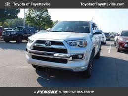 2017 new toyota 4runner limited 4wd at toyota of fayetteville