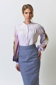 lilac blouse lilac painted blouse wear co