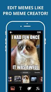Meme Creator App Iphone - meme maker the memes creator free iphone ipad app market