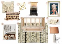 camel nursery neutral nursery design wall weave kalon crib