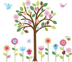 Baby Nursery Decals Amazon Com Pretty Pastel Garden Giant Peel U0026 Stick Wall Art