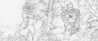 the beautiful sketches behind the witcher 3 u0027s ending