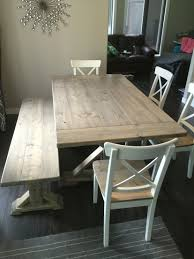 Dining Table 4 Chairs And Bench 68