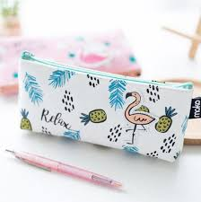 pencil cases flamingo pencil kawaii pen shop