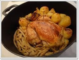 cuisiner poulet au four poulet au four à la cocotte recette iterroir