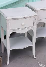 Gray Nightstands Revived Antique Dove Grey Nightstands Before U0026 After Picklee