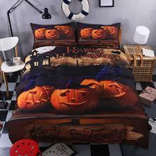Southwestern Comforters Happy Halloween Bedding Set For Kids Funny Gift 3d Print