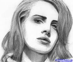 how to draw lana del rey step by step stars people free online