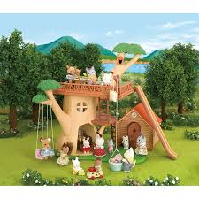 100 sylvanian families garden set families city house with