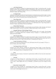 Accounts Receivable And Payable Resume Resume Resume Cover Letter Accounting Internship With Sap