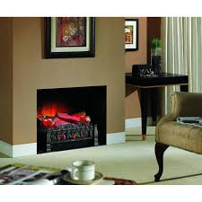 decor dark wood home depot electric fireplaces with black leather