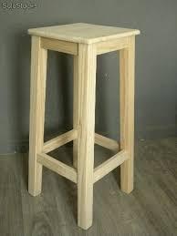 taburetes de pino taburete alto pata en madera de pino en crudo para posterior