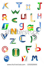 Letters Designs For - alphabet letters icons z design such stock vector 105002669