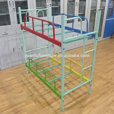yt c004 dormitory bunk bed metal iron bunk bed two