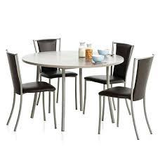 table ronde pour cuisine table ronde de cuisine incroyable table ronde cuisine stratifie bis