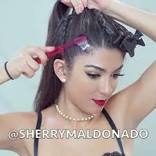 how to get hair like sherrie from rock of ages instagram post by sherry maldonado sherrymaldonado ponytail