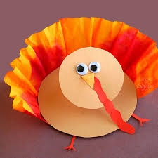 thanksgiving 3 d turkey craft for