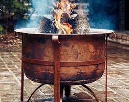 Rustic Firepit Outdoor Pits Northwest Metalcraft