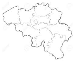 belgium map outline belgium map outline major tourist attractions maps and