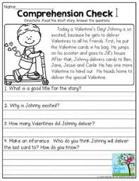 printable comprehension stories story with comprehension questions 3rd grade reading skills