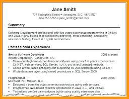 high resume summary exles resume summary for students skywaitress co