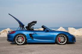 porsche boxster widebody 2016 porsche boxster spyder second drive review