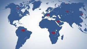 world map image with country names hd graphical digital world map news background with country names