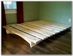 Diy Queen Size Platform Bed Plans by Lovely Platform Bed Plans With Full Size Platform Bed Plans