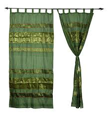 indian window curtains handmade silk valance curtains manufacturer