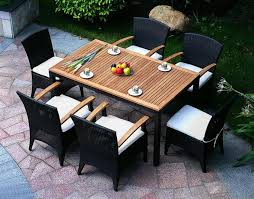 Patio Dining Table Outdoor Dining Table Chairs Outdoorlivingdecor